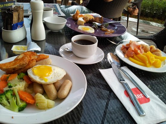 A Good Variety Of Food During The Breakfast Buffet Picture Of Four Points By Sheraton Penang