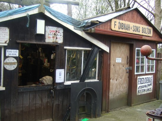 Rear of the house picture of fred dibnah heritage centre for Garden shed tripadvisor