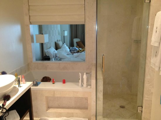 EPIC Hotel - a Kimpton Hotel: from bathroom, looking into room