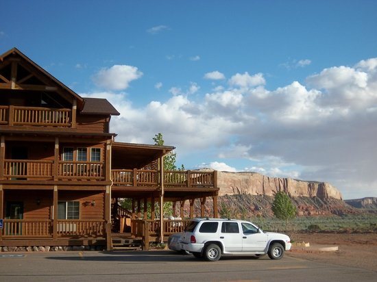 View In Front Of Hotel Picture Of Desert Rose Inn