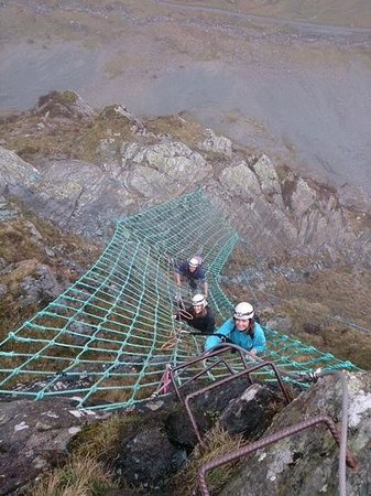 Keswick Extreme - Private Adventures: great day out on the via ferrata