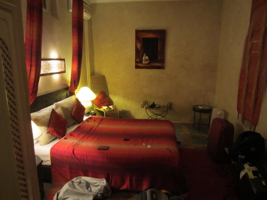 Riad Eden: Our room on the first floor