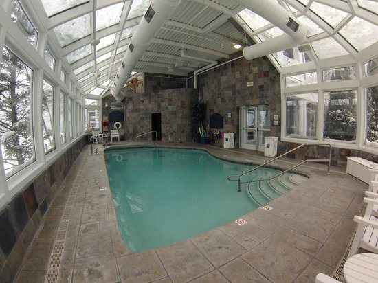 Indoor Pool Room Picture Of Lebear Residential Resort Glen Arbor Tripadvisor