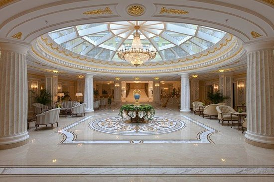 The Official State Hermitage Hotel Lobby Central (96364697)