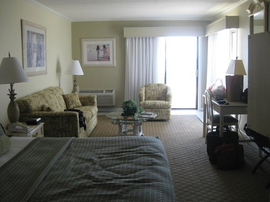 Surf Side Hotel: Corner room with two balconies