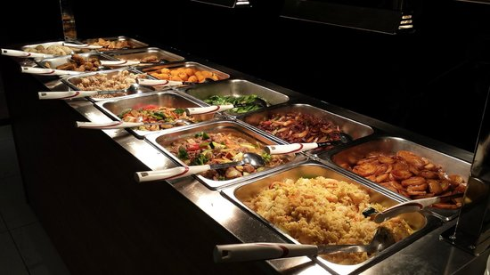 the salad buffet picture of asia 5 sterne restaurant ludwigsburg tripadvisor. Black Bedroom Furniture Sets. Home Design Ideas
