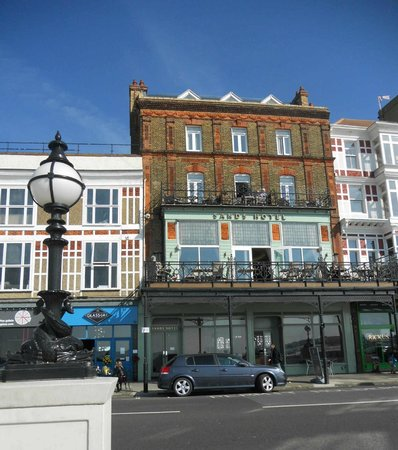 View From The Beach Picture Of Sands Hotel Margate Tripadvisor