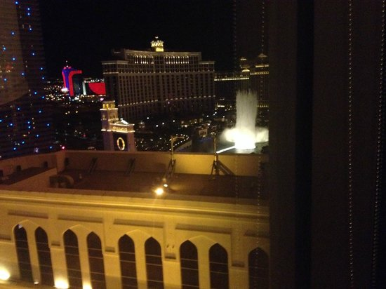 Planet Hollywood Resort & Casino: The Bellagio Fountains From my Room