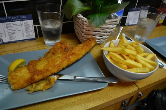 Fish e chips for Bettys fish and chips