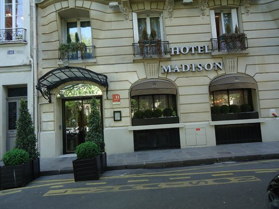 picture of madison hotel paris tripadvisor. Black Bedroom Furniture Sets. Home Design Ideas