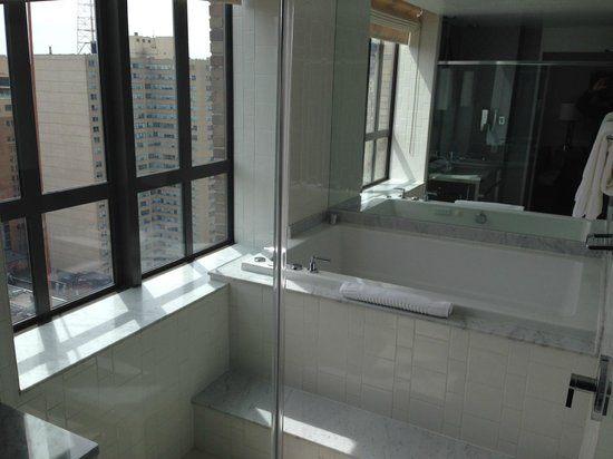 Spa Tub And Walk In Shower Enclosure 2102 Picture Of Hotel Palomar Philade