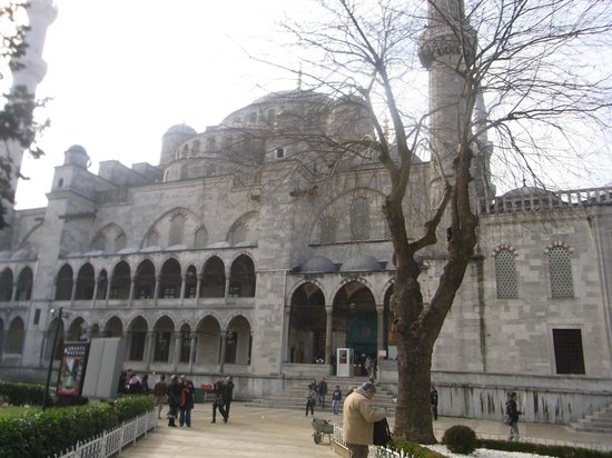 historical sites in istanbul - Picture of Historic Areas ...