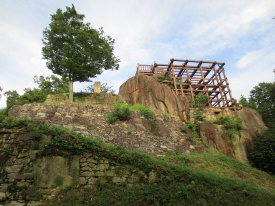 Naegi Castle Remains