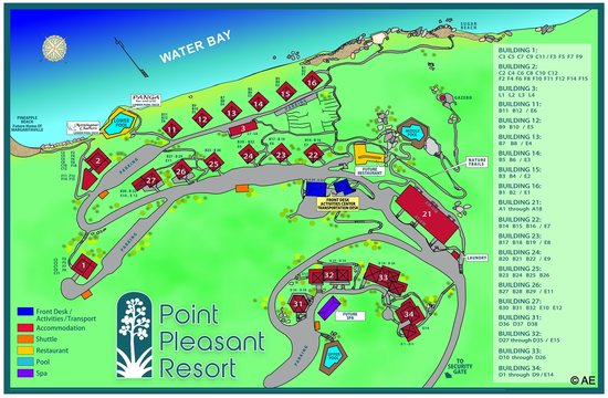 Resort map picture of point pleasant resort east end tripadvisor