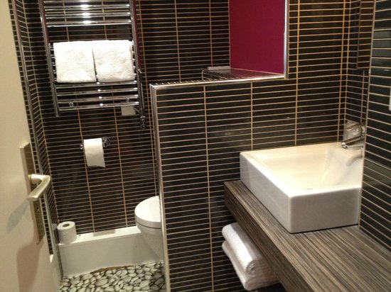il bagno picture of ibis styles lyon sud vienne chasse sur rhone tripadvisor. Black Bedroom Furniture Sets. Home Design Ideas