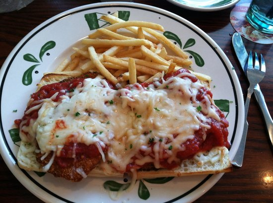 Chicken Parmigiana Olives Images