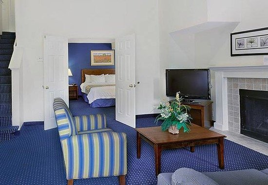 Two Bedroom Bi Level King Suite Picture Of Residence Inn Charlotte South At I 77 Tyvola Road