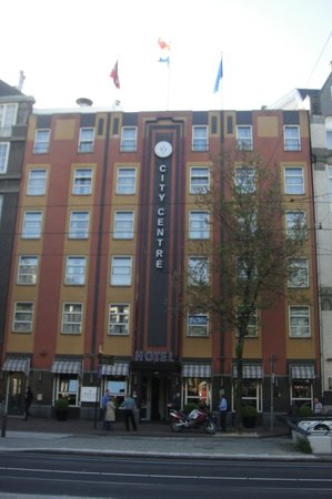 WestCord City Centre Hotel Amsterdam: Frente do hotel