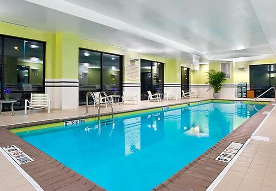 Indoor Swimming Pool Picture Of Springhill Suites Louisville Downtown Louisville Tripadvisor