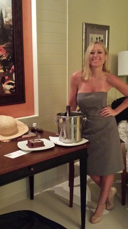 Iberostar Grand Hotel Bavaro: Birthday surprise for my wife on her 36 birthday. All handeled by the bulter staff!!! Top notch
