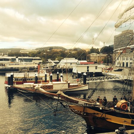 Somerset on the Pier, Hobart: Loved the view