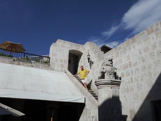 Casa Andina Private Collection Arequipa: Inner steps