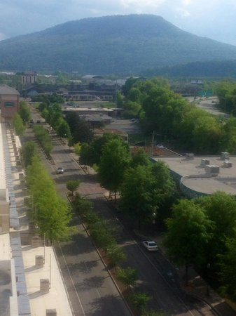 Chattanooga Marriott Downtown: Mountain view from 11th floor. Love!