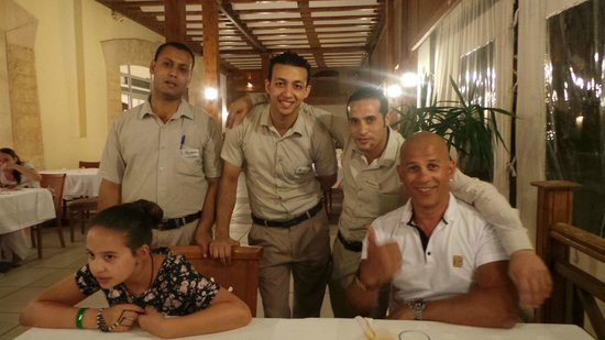 Our fabulous dining room attendants picture of sharm for Dining room attendant