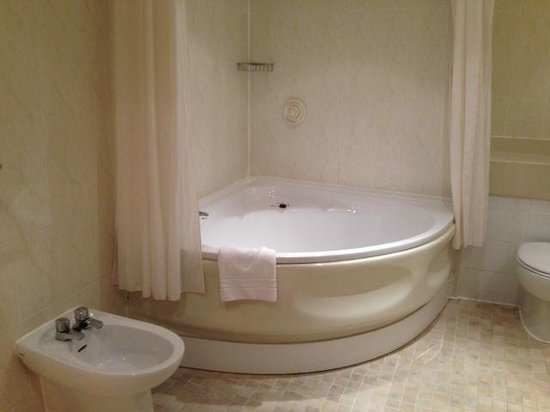 Large Corner Bath With Shower Etc Toilet Bidet And Hand Basin Picture Of