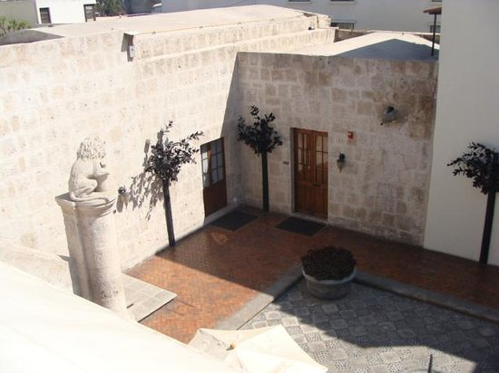 Casa Andina Private Collection Arequipa: Upper Terrace