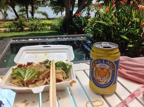 Hoian Marina Resort & Spa: best seat in the house
