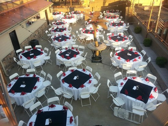The Chestnut Boutique Hotel: Fabulous Outdoor Event Venue
