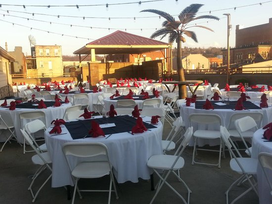 The Chestnut Boutique Hotel: Rooftop area is perfect for a beautiful afternoon event!