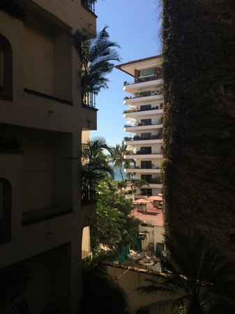 Plazamar: View from the bedroom