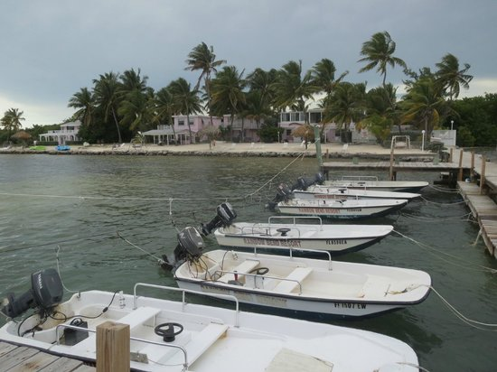 The octagon cottage picture of rainbow bend fishing for Florida keys fishing resorts