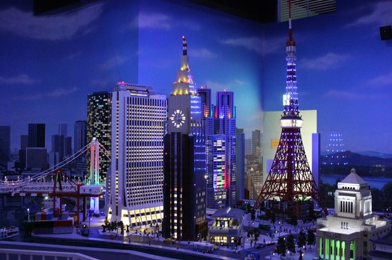 Tokyo display at Legoland. - Picture of Lego land Discovery Center Tokyo, Min...