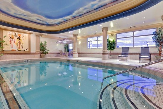 Swimming Pool Picture Of Holiday Inn Suites Grande Prairie Conference Centre Grande