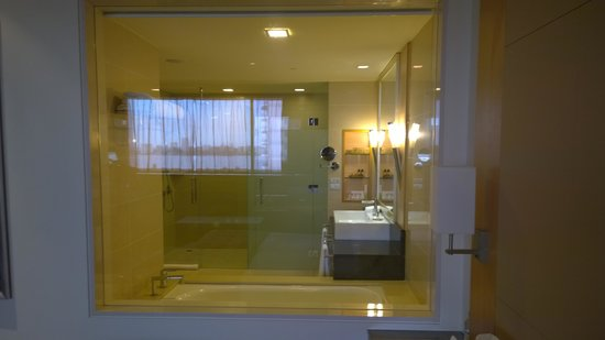 Facing the swan river window picture of pan pacific for Bathroom windows perth