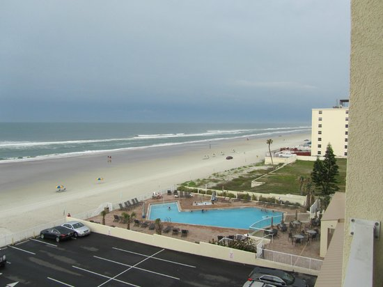 vista dalla camera picture of hyatt place daytona beach. Black Bedroom Furniture Sets. Home Design Ideas