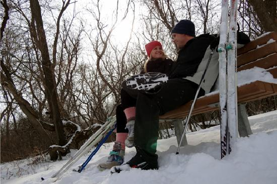 Rochester, MN: Cross Country Ski at Quarry Hill Nature Center