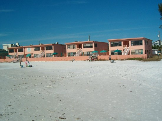 Siesta Sands on the Beach