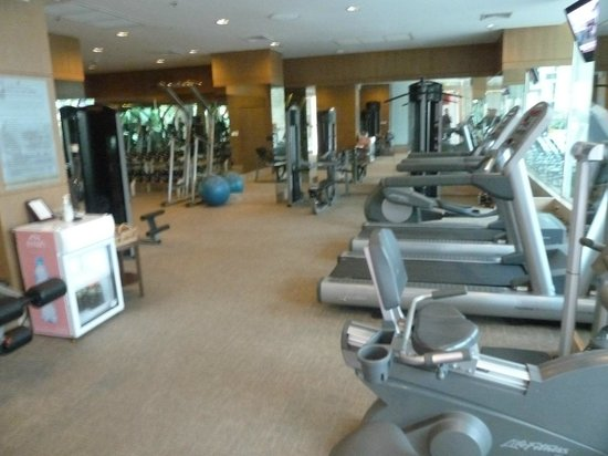 President Palace Hotel: The fitness center