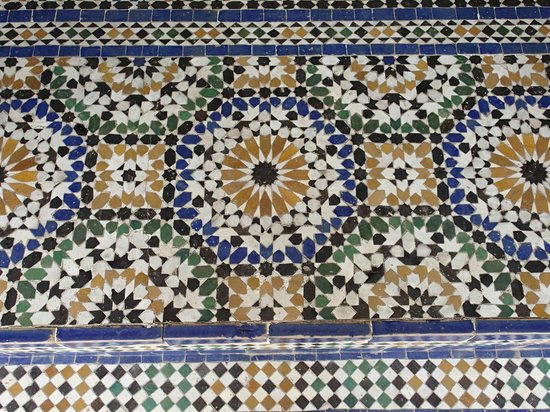mosaique au sol picture of bahia palace marrakech tripadvisor. Black Bedroom Furniture Sets. Home Design Ideas