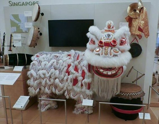 Lion Dancing Costume Lion Dance Costume Used in