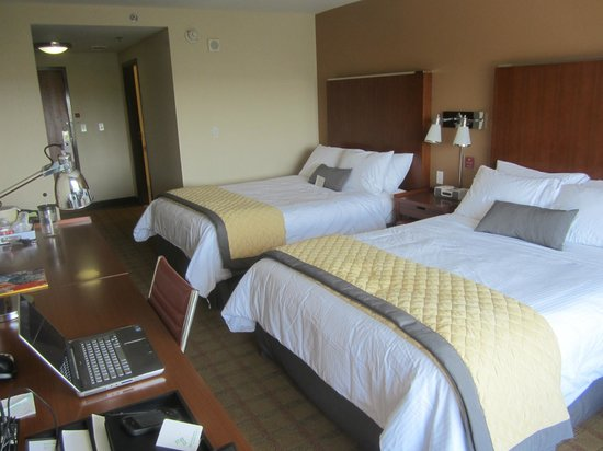 Room 401 With Two Queen Beds Picture Of Wyndham Garden San Antonio Near La Cantera San