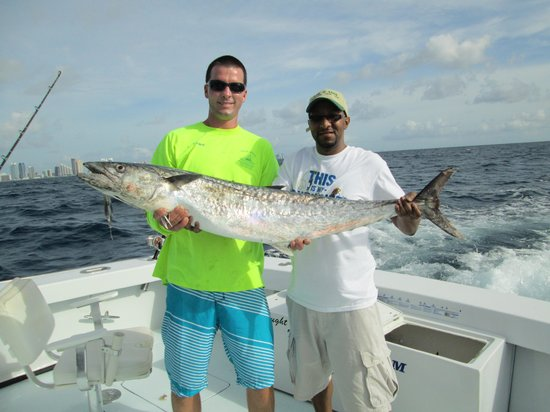 The big catch picture of miami deep sea fishing charter for Deep sea fishing miami fl