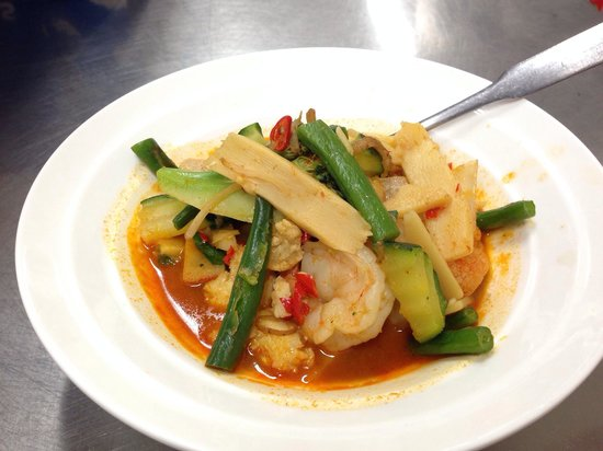 Jungle curry Prawn. - Picture of Thai on High Street, Toowoomba ...