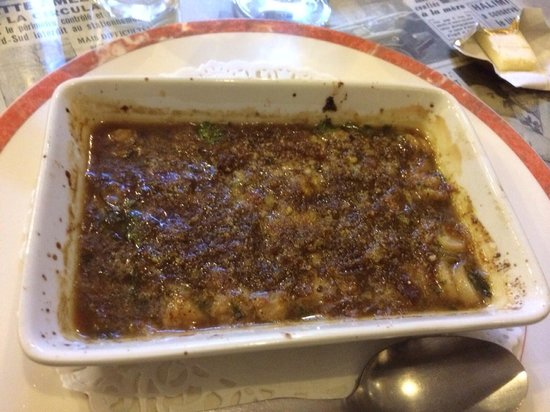 Gratin de p toncles picture of coquille d 39 oeuf saint - Chaise coquille d oeuf ...