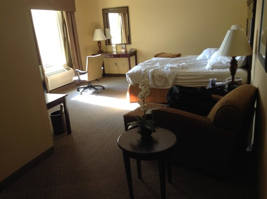 Holiday Inn Express Texarkana: The room was big