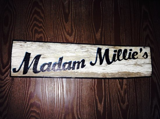 Little Toad Creek Inn & Tavern: our room sign
